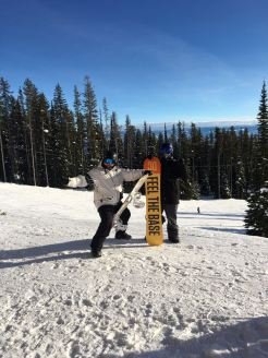 Being a dick in Big White