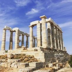 Temple of Poseidon outside of Athens