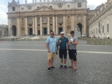 With Friends at the Vatican