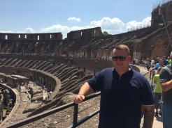 At the Colliseum