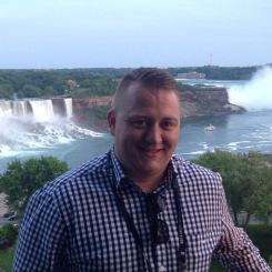 Me at the Niagara Falls
